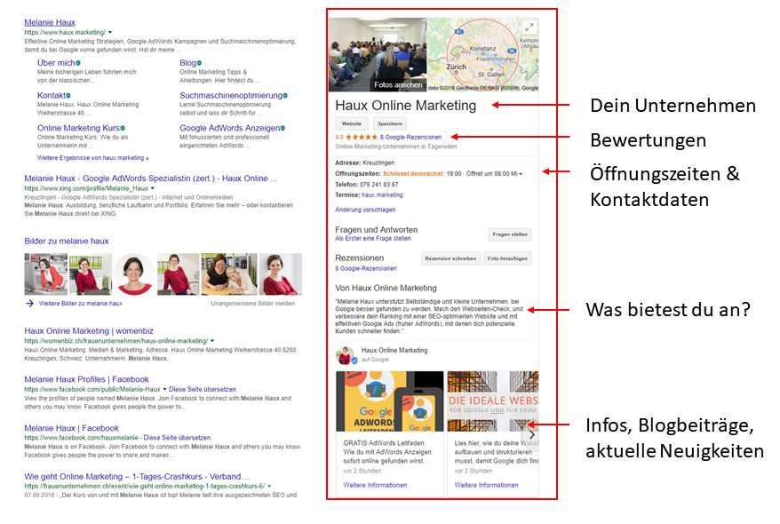 Google MyBusiness Infos & Tipps