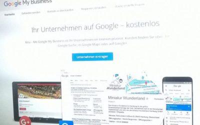 Warum sich ein Google MyBusiness Eintrag für KMUs und Selbständige lohnt