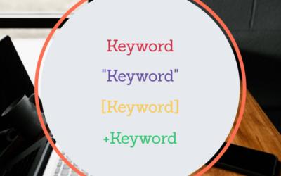 Wie du die AdWords Keywordoptionen richtig einsetzt
