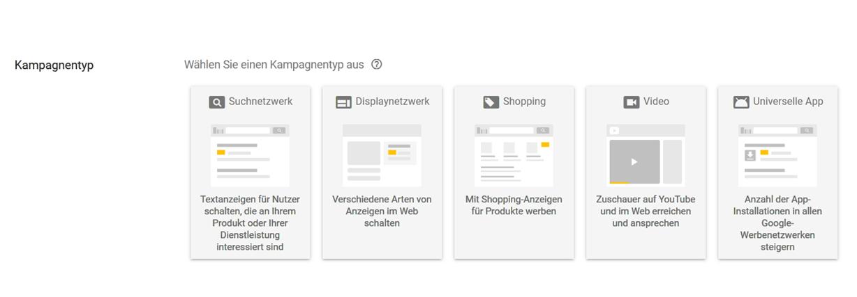 AdWords Suchnetzwerk oder Displaynetzwerk