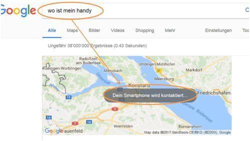 Google HAndysuche