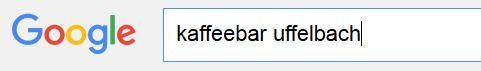 Google Suche Kaffeebar
