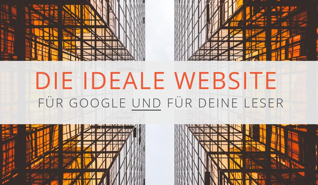 Der ideale Aufbau einer Website