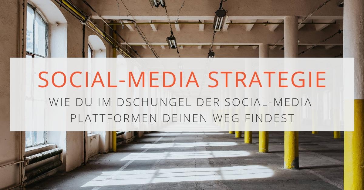 Social-Media-Strategie: Wie du im Dschungel der Social Media Plattformen deinen Weg findest