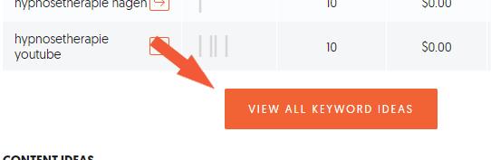 Keyword Tool mehr Ideen und Preise