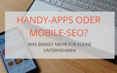 Solltest du in Apps oder in mobile Webseiten investieren?