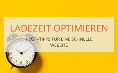 Profi-Tipps für schnelle Webseiten und Ladezeit Optimierung (Teil2)